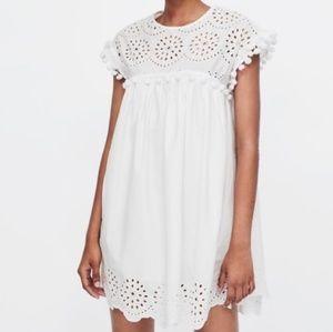 ❤ Zara White Dress
